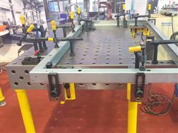三维柔性焊接工装-三维柔性千赢pt手机客户端焊接平台